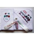 Trusou botez  personalizat Ursuletul Panda