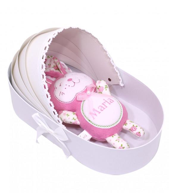 Jucarii personalizate bebelusi - Jucarie personalizata Iepuras set de joaca