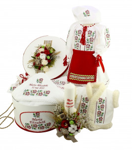 More about Trusou botez cu lumanare traditional Maria