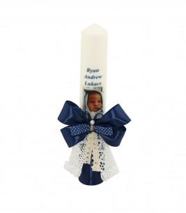 More about Lumanare de botez personalizata cu poza Ryan