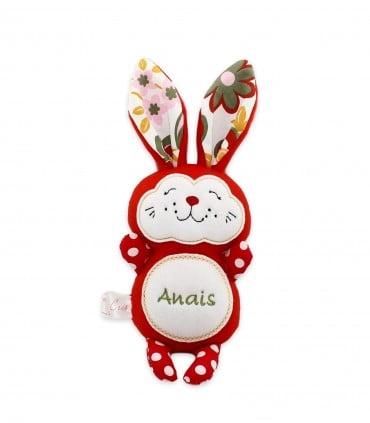 Iepuras handmade personalizat Anais