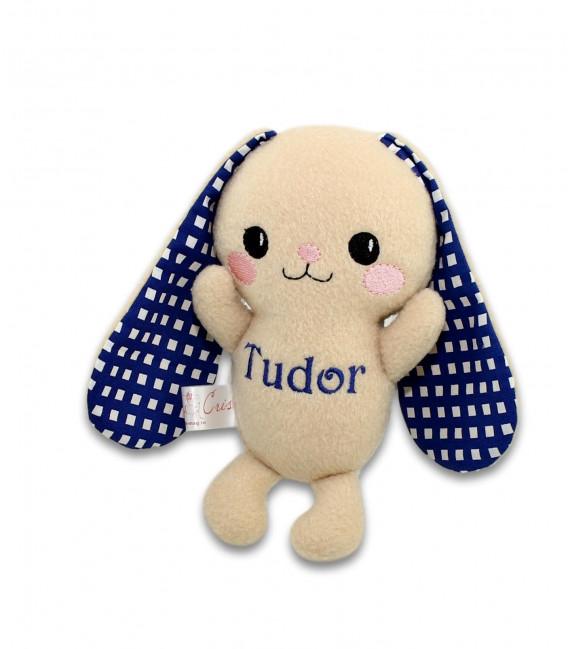Jucarii personalizate bebelusi - Iepuras personalizat Tudor