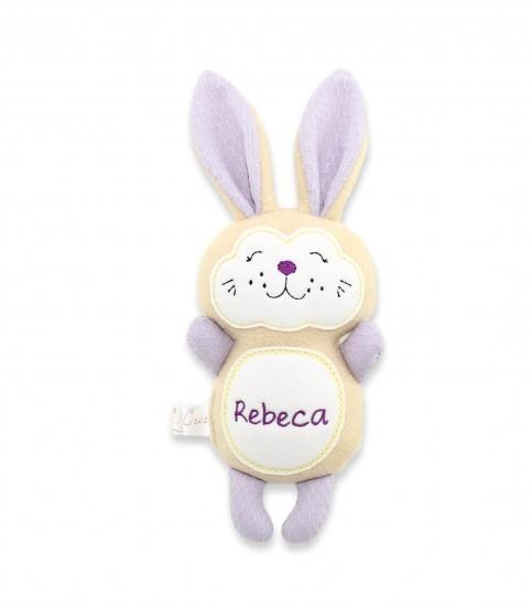 Jucarii personalizate bebelusi - Jucarii personalizate iepuras Rebeca