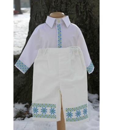 Costum botez traditional baieti Mihai producator Atelierele Cris  520,00Lei