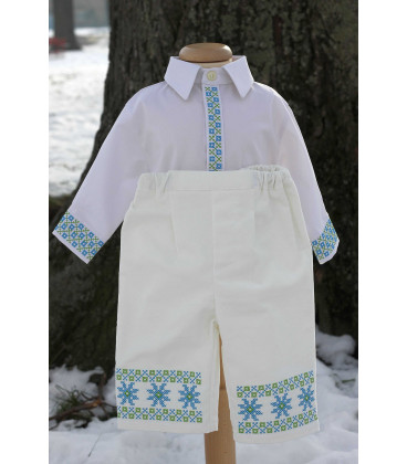 Costum botez traditional baieti Mihai