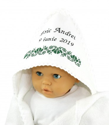 Trusouri botez traditionale - Trusou botez si cutie model traditional