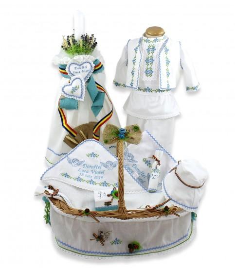 Trusouri botez traditionale - Trusou botez traditional băieți complet Viorel