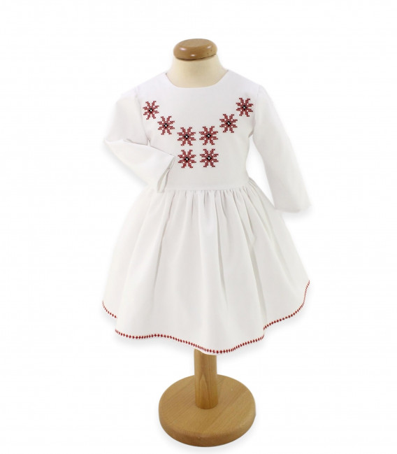 Trusouri botez traditionale - Trusou botez complet iarna model traditional Isabelle
