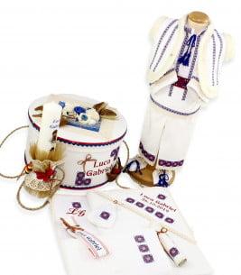 More about Set botez complet băieți traditional personalizat  Luca