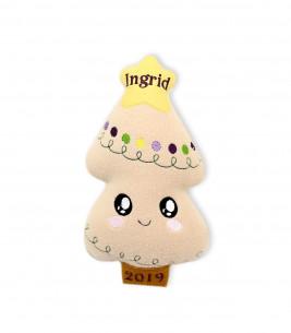 Cadou de Crăciun bradut jucarie personalizata Ingrid