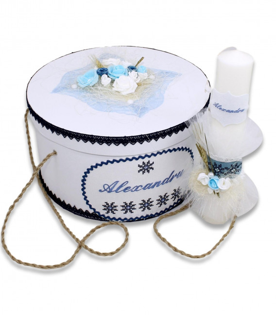 Trusouri botez traditionale - Trusou traditional romanesc complet de iarna baieti Alexandru