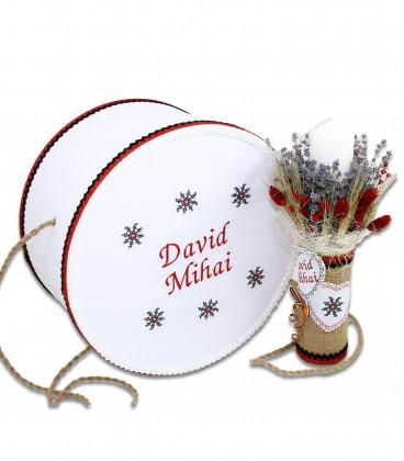 Trusouri botez traditionale - Trusou botez traditional de iarna complet pentru baieti David