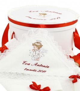 More about Trusou botez si cutie decorata alegerea nasilor Ingerasul de rubin