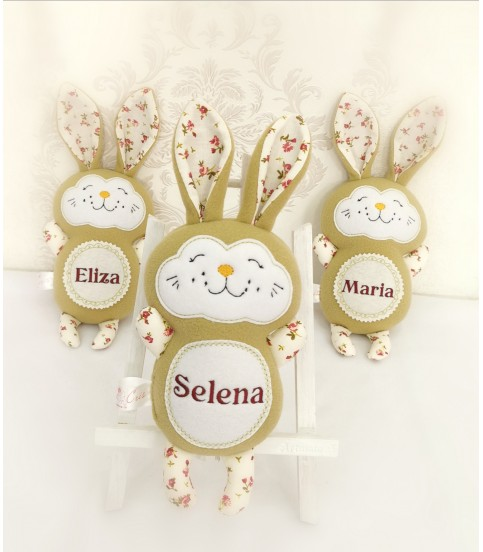 Jucarii personalizate bebelusi - Jucarii personalizate bebelusi iepuras Selena