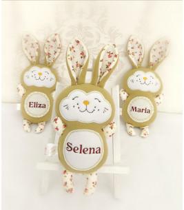 Jucarii personalizate bebelusi iepuras Selena