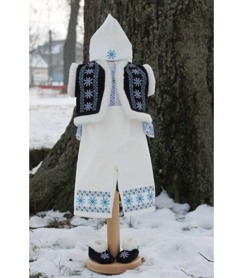 Costum botez traditional baieti Vlad producator Atelierele Cris  520,00Lei
