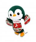 Jucarie personalizata cadou Craciun pinguin