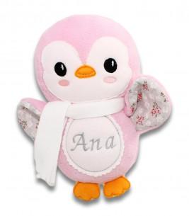 Pinguin roz personalizat