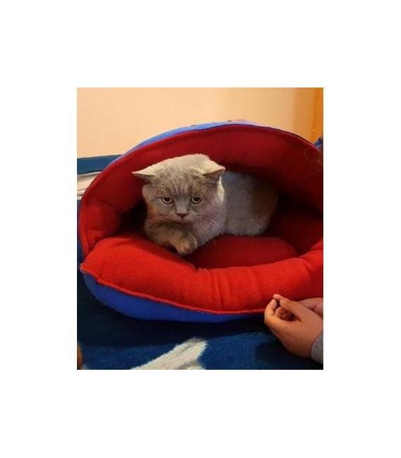 POza de la clienti cu culcus pisici pentru interior si exterior model Pablo