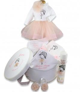More about Set botez complet  balerina pentru fetite personalizat