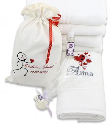 Set cadou SPA personalizat pentru Ea