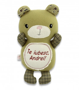 More about Jucarie personalizata ursulet  cu nume si mesaj