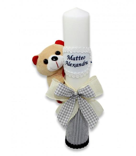 Set botez pentru baieti ursulet Matteo