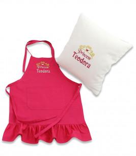 More about Set cadou personalizat pentru fetite sort si pernuta