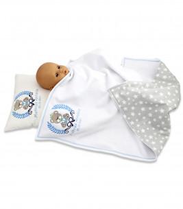 More about Set cadou personalizat cu ursulet pentru baieti 3 piese