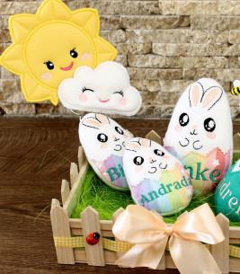 Cadou de Paste decoratiune personalizata happy day