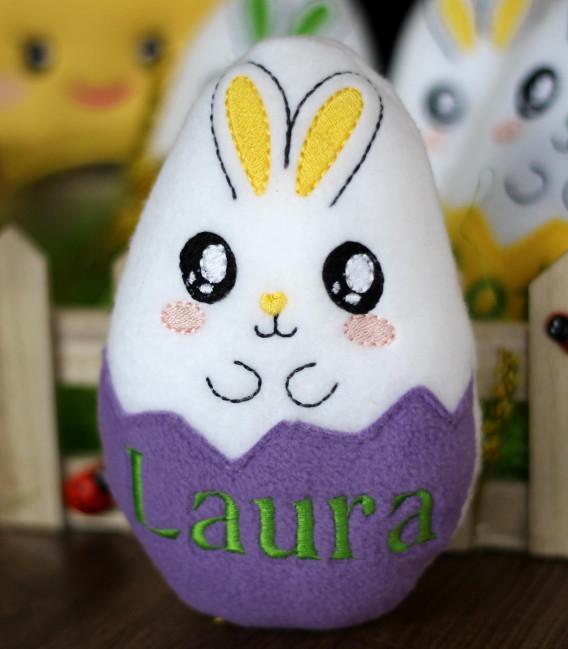 Cadou de Paste jucarie personalizata ou Laura