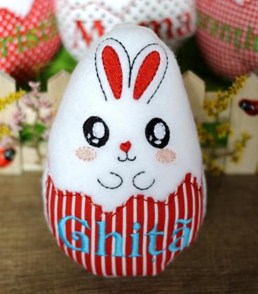 Jucarie personalizata ou de Paste cu nume Ghita