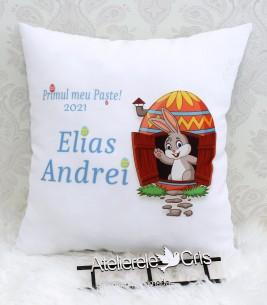 More about Pernuta cadou de Paste pentru bebelusi cu iepuras si mesaj