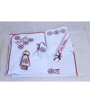 Trusou botez traditional personalizat Stelute