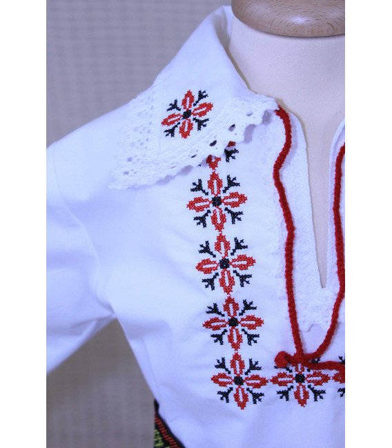 Costum botez traditional Stelute