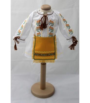 Costum traditional fete