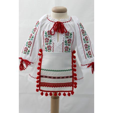Costumas traditional fete botez Florica