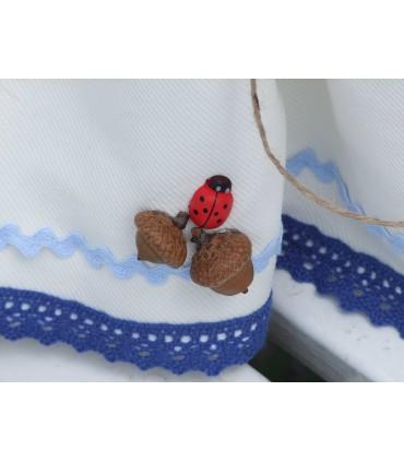 Lumanare botez traditionala