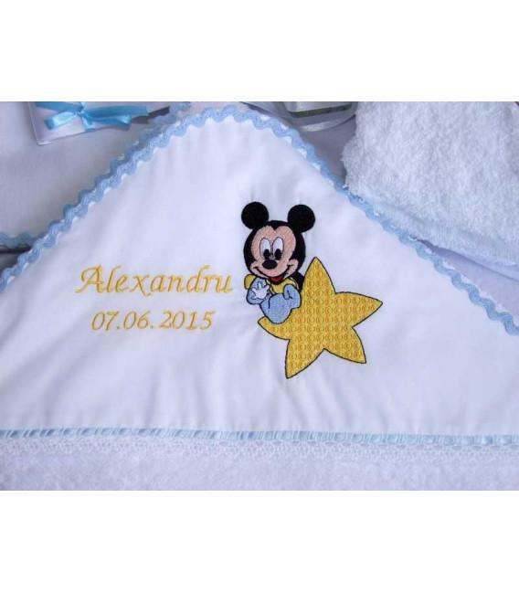 Trusou botez baby Mickey Mouse