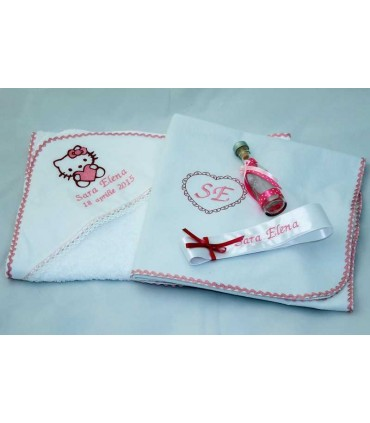 Trusou botez Hello Kitty