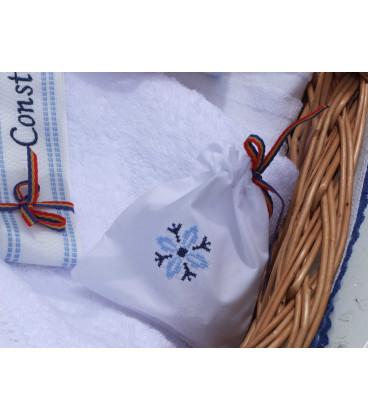 Trusouri botez traditionale - Trusou botez traditional stelute Albastre