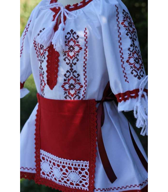 Costum botez fetite traditional Cristina