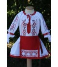 Costum botez fetite traditional Cristina