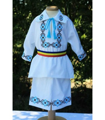 Costum botez traditional Adrian