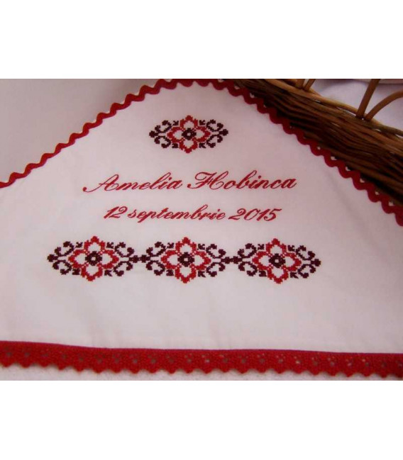 Trusouri botez traditionale - Trusou botez complet fetite traditional