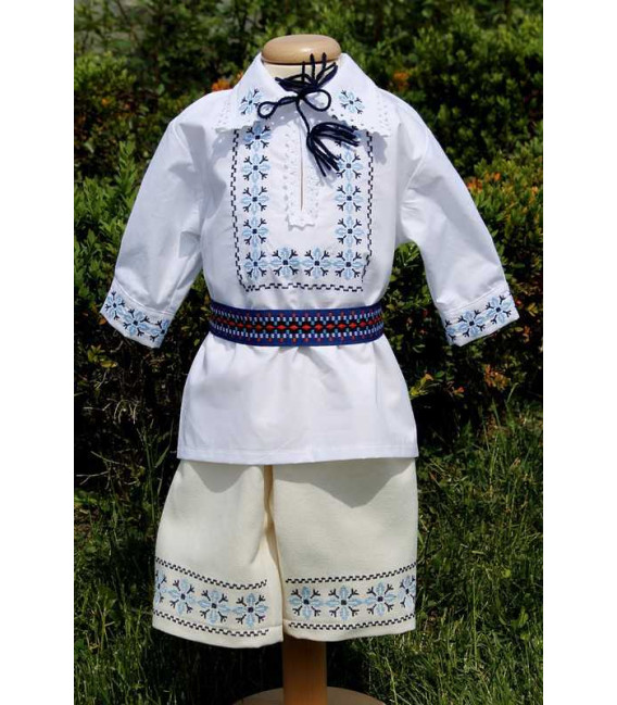 Trusouri botez traditionale - Trusou botez complet baieti traditional