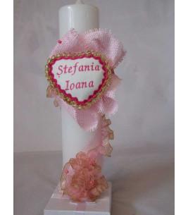 More about Lumanare botez personalizata Stefania