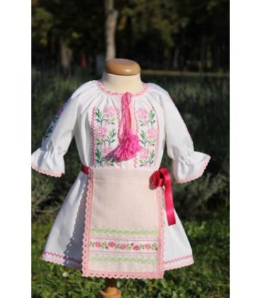 Costum popular botez Codruta