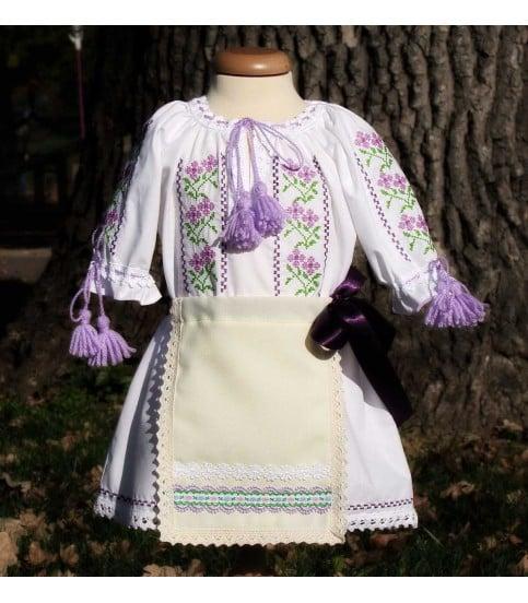 Costum popular botez Violeta