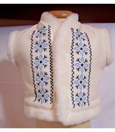 Bundita botez brodata traditionala Stelute